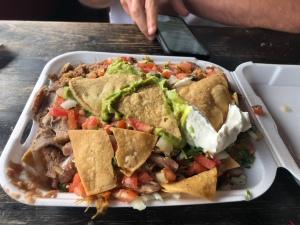 nachos from el toro bravo