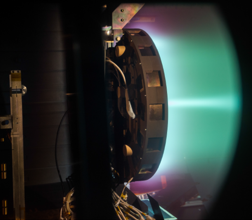 x3 ion thruster test